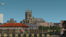 UK Cambridge Saint Johns College Chapel