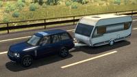 Ets2 Land Rover Range Rover Caravan