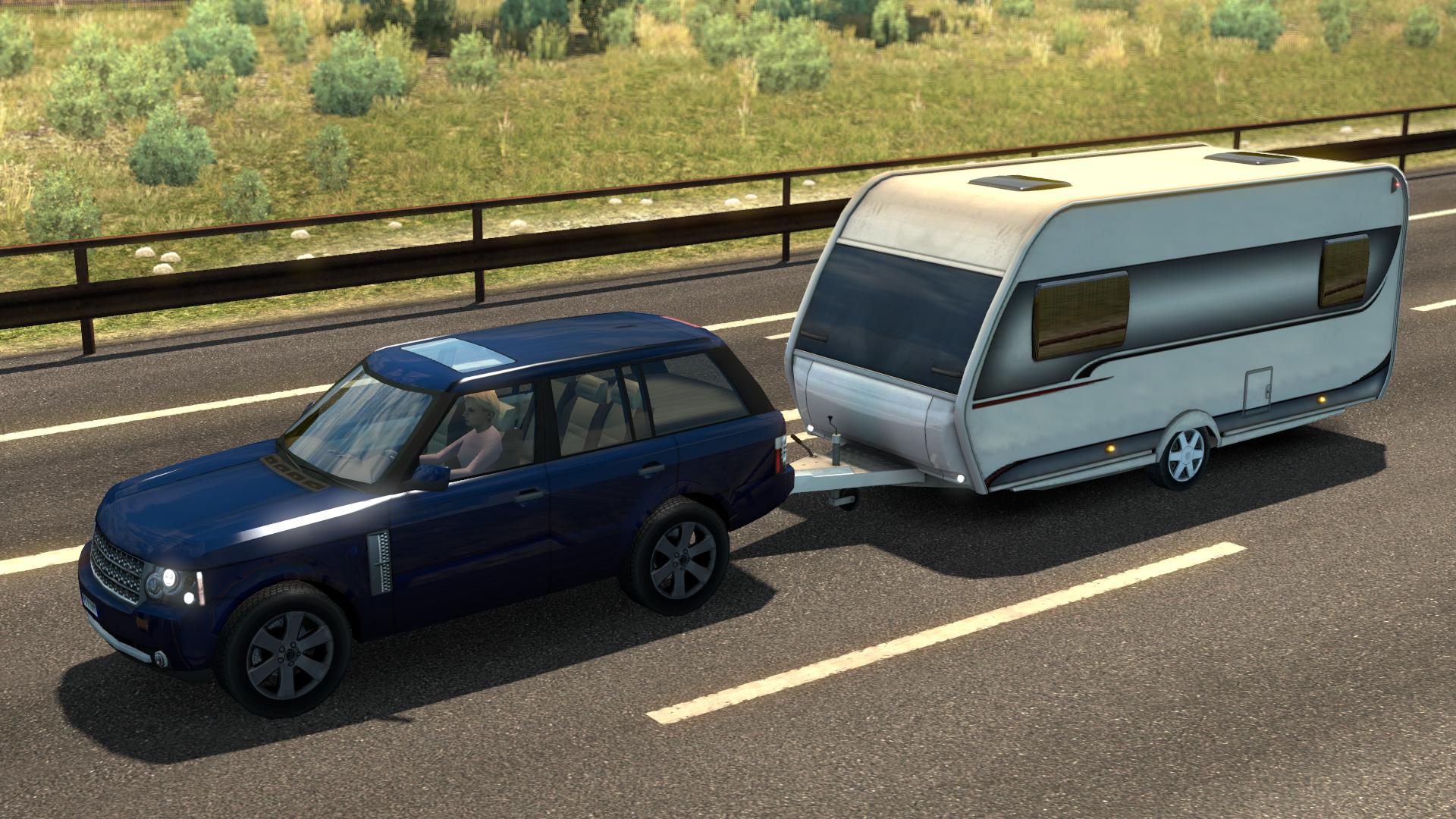 Image Ets2 Land Rover Range Rover Caravan