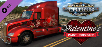 Valentine's Paint Jobs Pack ATS