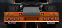 Daf xf euro 6 rear bumper thor