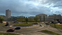 Plymouth W roundabout