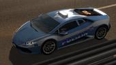 Police Italy Lamborghini