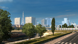 Paris ETS2 skyline