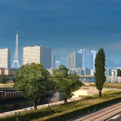 Old ETS2 skyline