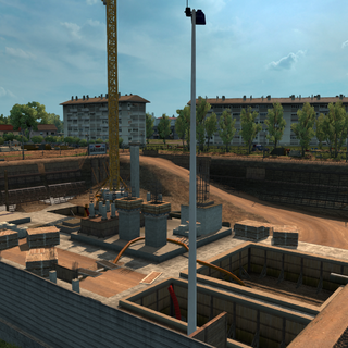 Bâtisse construction area
