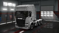 Scania Chassis 8x4