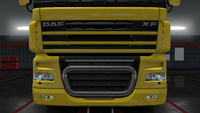 Daf xf 105 bull bar twister
