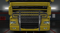 Daf xf 105 bull bar accent