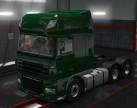 Daf xf 105 emerald green