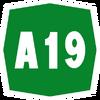 Italy A19 shield