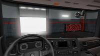 Scania R interior exclusive wood