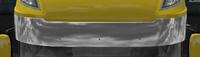 Daf xf 105 sun visor aphelion chrome