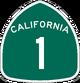 CA 1 sign