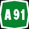 Italy A91 shield