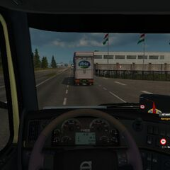 Border into Hungary