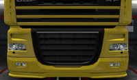 Daf xf 105 lower grille guard pride paint