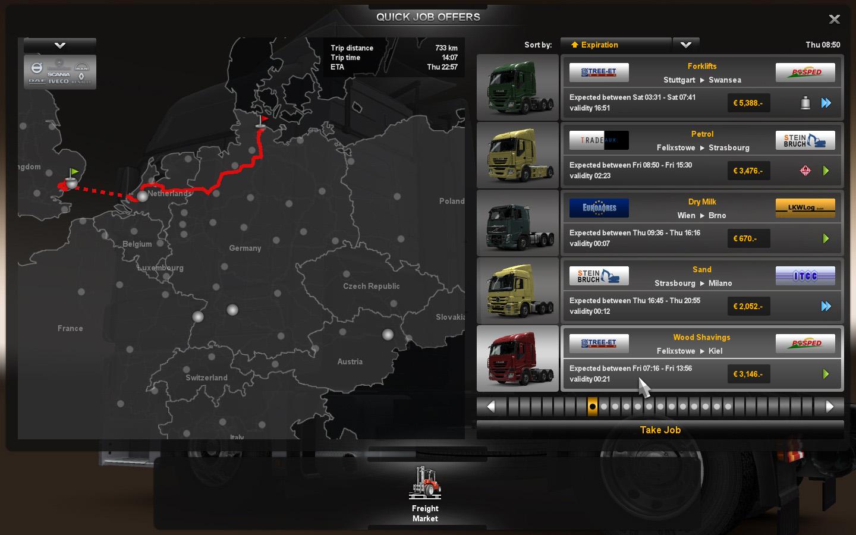 Job Market   Truck Simulator Wiki   FANDOM powered by Wikia