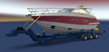 ATS Lowboy Boat Trailer