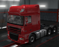 Daf xf 105 milano red
