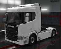 Scania R cabin normal roof