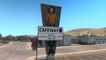 Lakeview Safeway Sign