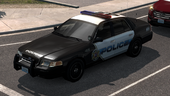 Police Seattle Crown Victoria