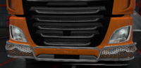 Daf xf euro 6 lower grille guard dragonfly