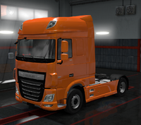 Daf xf euro 6 super space