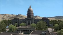 Boise Idaho State Capitol Building