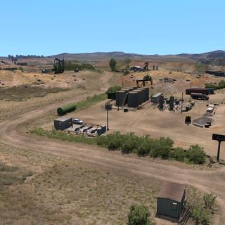 Gallon Oil oil drilling site