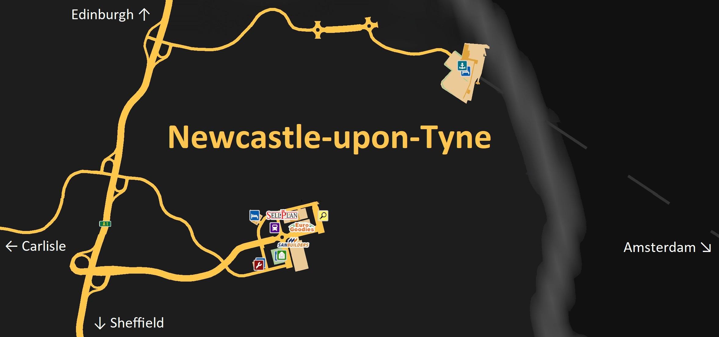 NewcastleuponTyne Truck Simulator Wiki FANDOM powered by Wikia