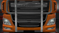 Daf xf euro 6 bull bar mirage