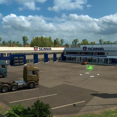 Scania truck dealer