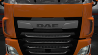 Daf xf euro 6 front badge stock