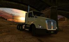 Double-trailer Logistics reward
