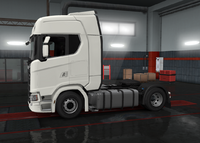 Scania S chassis 4x2