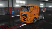 MAN TGX Euro 6 orange