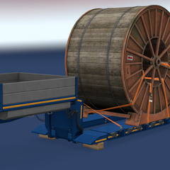 Industrial Cable Reel (34 t / 76,103 lb)