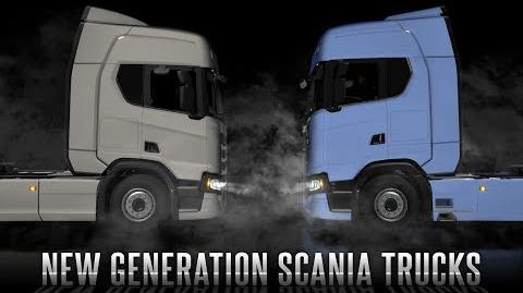 Scania R & S trailer