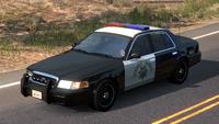 Police California Crown Victoria