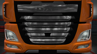 Daf xf euro 6 front grille blade