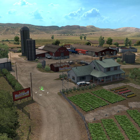 Bushnell Farms' farm