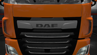 Daf xf euro 6 front badge stock facelift