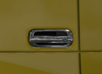 Daf xf 105 door handle chrome