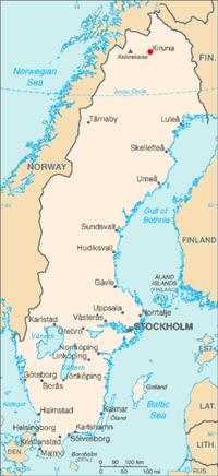 275px-Kiruna in Sweden