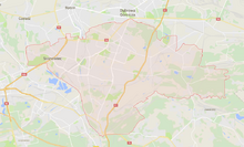 Sosnowiec - mapa