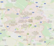 Lwów - mapa