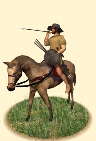 EB2 Hellenic Skirmishers Cavalry