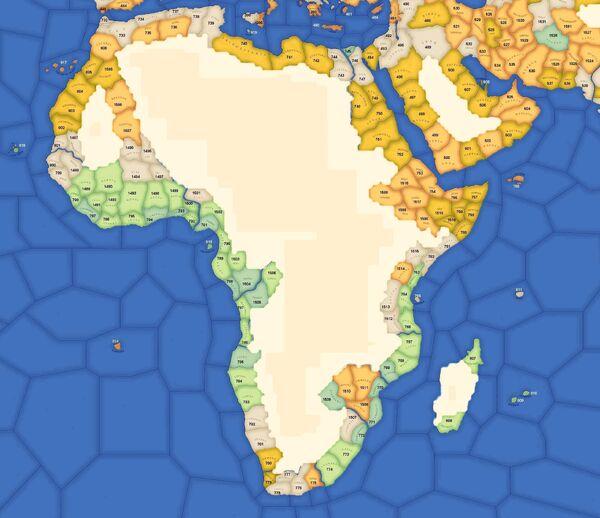 EU2 Africa IDs
